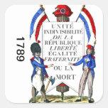 Pegatina de la Revolución Francesa