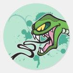 Pegatina de la serpiente