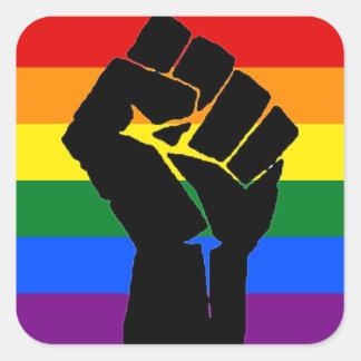 Pegatina de la solidaridad de LGBT
