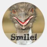 Pegatina de la sonrisa