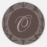 Pegatina de la tapicería de Brown