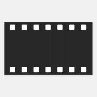 Pegatina de la tira de la película