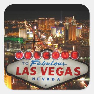Pegatina de la tira de Las Vegas