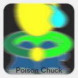 Pegatina de la tirada del veneno [logotipo]