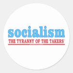 Pegatina de la tiranía