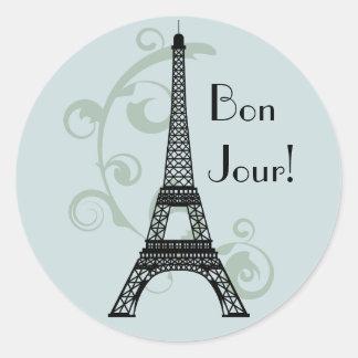 Pegatina de la torre Eiffel