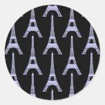 Pegatina de la torre Eiffel de PICK-A-COLOR