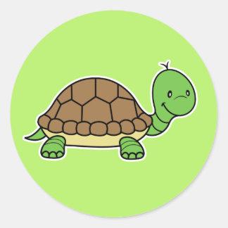 Pegatina de la tortuga