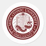 Pegatina de la universidad de Miskatonic