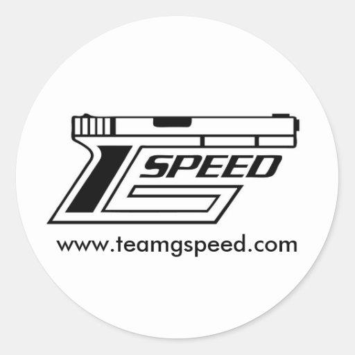 Pegatina de la velocidad de G del equipo
