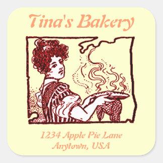 Pegatina de la venta al por menor de la panadería
