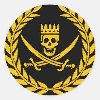 Pegatina de la victoria del pirata - paquete de 20