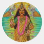 Pegatina de Lakshmi de la diosa