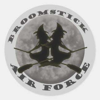 Pegatina de las brujas de Halloween