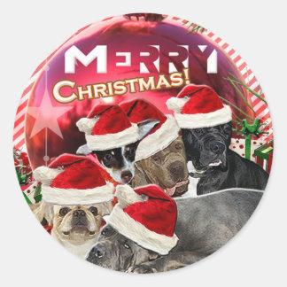 Pegatina de las Felices Navidad (edición del
