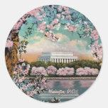 Pegatina de las flores de cerezo