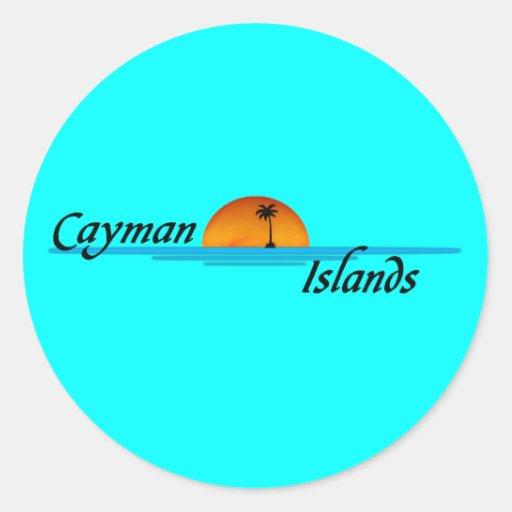 Pegatina de las Islas Caimán
