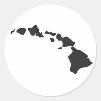 Pegatina de las islas hawaianas