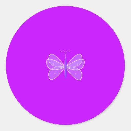 Pegatina de las mariposas del amor