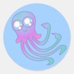 Pegatina de las medusas