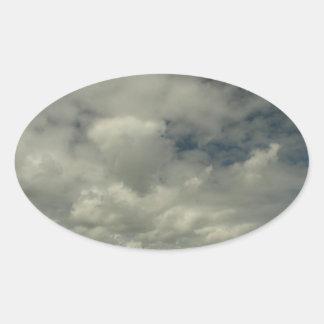 Pegatina de las nubes