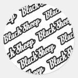 Pegatina de las ovejas negras