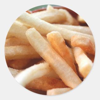 Pegatina de las patatas fritas