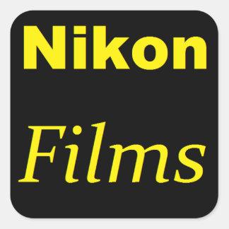 Pegatina de las películas de Nikon