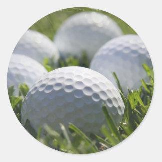 Pegatina de las pelotas de golf