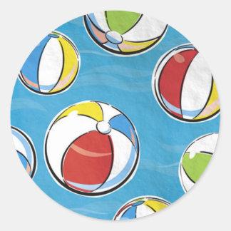Pegatina de las pelotas de playa