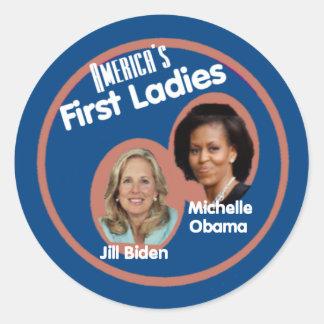 Pegatina de las señoras de Michelle Jill