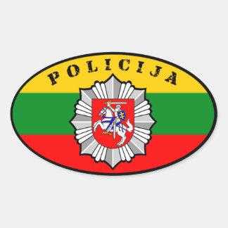 Pegatina de Lietuvos Policija