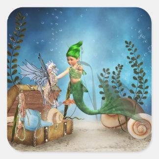 Pegatina de little mermaid 4