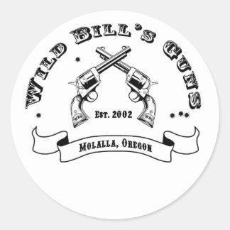 Pegatina de los armas de Bill salvaje