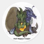 Pegatina de los bebés del dragón