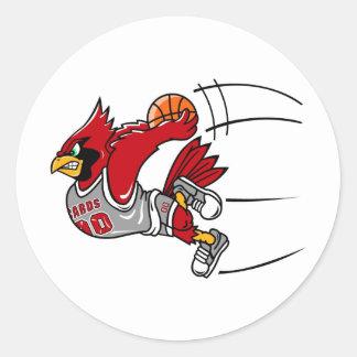 Pegatina de los cardenales
