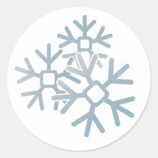 Pegatina de los copos de nieve