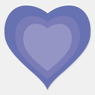 Pegatina de los corazones