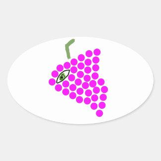 """""""Pegatina de los Cyclops de la uva"""""""