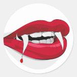 Pegatina de los dientes del goteo