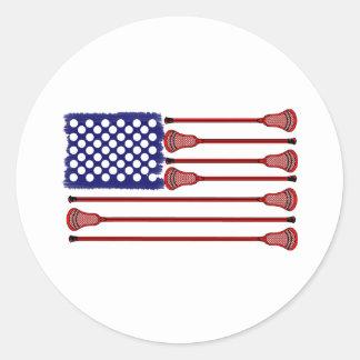 Pegatina de los diseños AmericasGame2 de LaCrosse