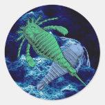 Pegatina de los escorpiones de mar