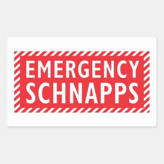 Pegatina de los licores de la emergencia -