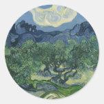 Pegatina de los olivos