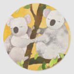Pegatina de los osos de koala