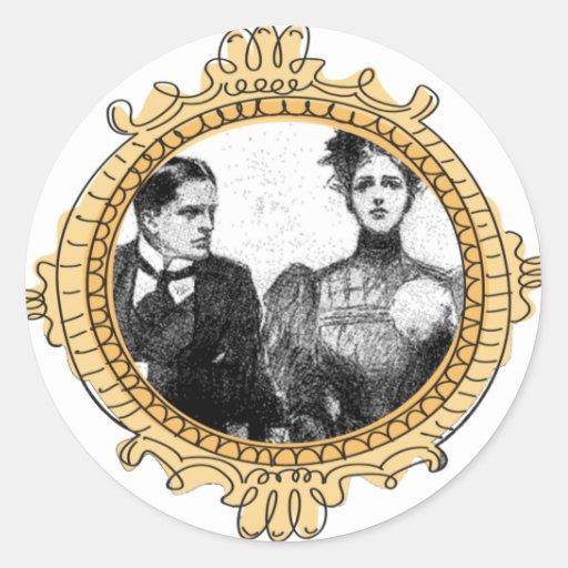 Pegatina de los pares del Victorian