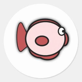Pegatina de los pescados