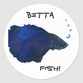 Pegatina de los pescados de Betta