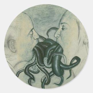 pegatina de los tentáculos