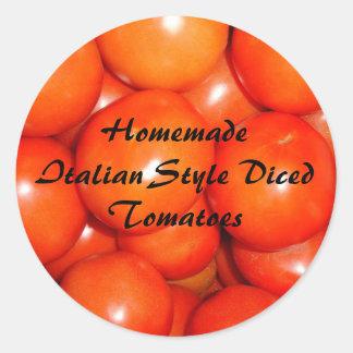 Pegatina de los tomates